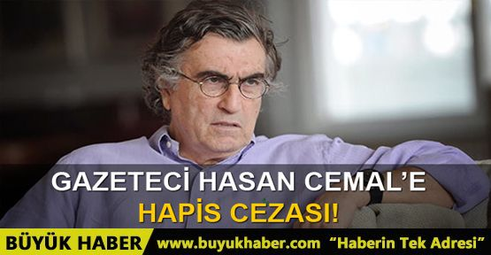 Gazeteci Hasan Cemal'e hapis cezası