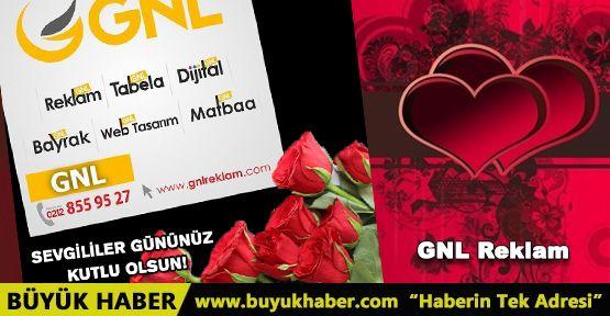 GNL Reklam Sevgililer Gününü Kutlar