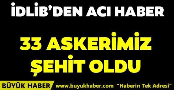 Hatay Valisi Rahmi Doğan 33 Mehmetçiğimiz şehit oldu!