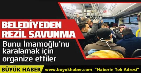 İBB'den kalabalık otobüs açıklaması!