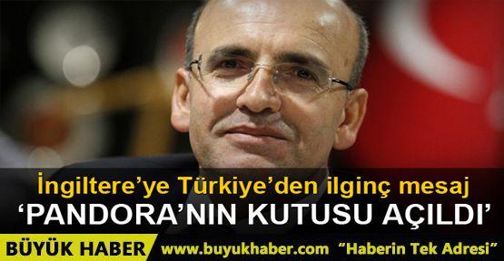 İngiltere'nin AB'den ayrılma kararına Türkiye'den ilginç tepki
