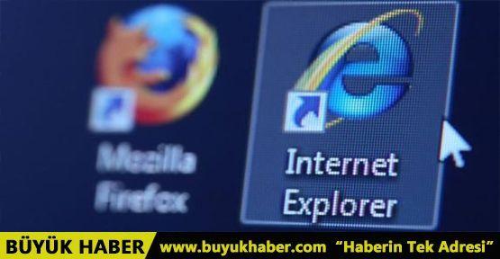 Internet Explorer'ın eski sürümünü kullananlara kötü haber