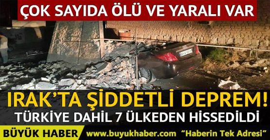 Irak Süleymaniye'de son dakika şiddetli deprem!