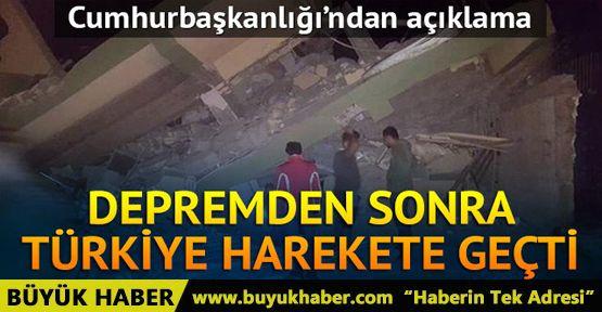 Irak'taki depremden sonra Türkiye harekete geçti