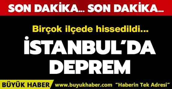 İstanbul Depremle Sallandı!