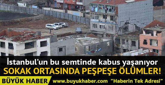 İstanbul-Kadıköy'ün kentsel dönüşüm bölgesi Fikirtepe'de uyuşturucu kabusu