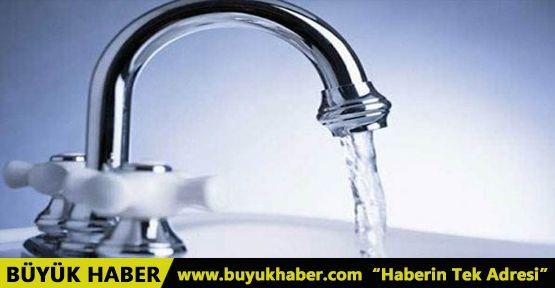 İstanbul'da bazı ilçelere 16 saat süreyle su verilemeyecek