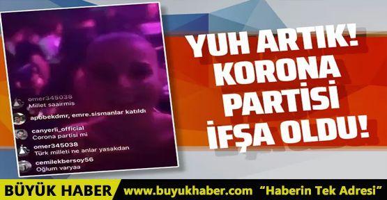İstanbul'da skandal ev partisi!