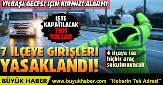 İstanbul'da yılbaşı için Emniyet'ten olağanüstü önlem
