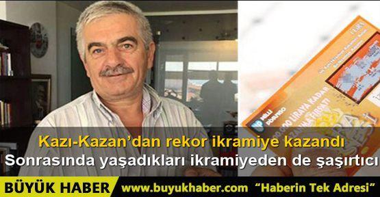 İzmir'de Kazı-Kazan'dan 100 bin TL kazanan talihli dolandırıldı