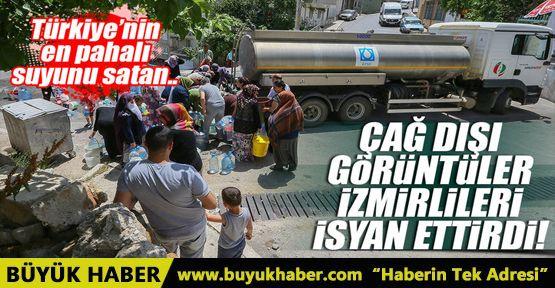 İzmir'de su krizi tepki çekmeye devam ediyor