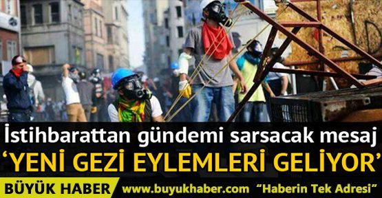 'Jandarma istihbaratçıları Valileri uyardı: Gezi benzeri eylemler yapılabilir'