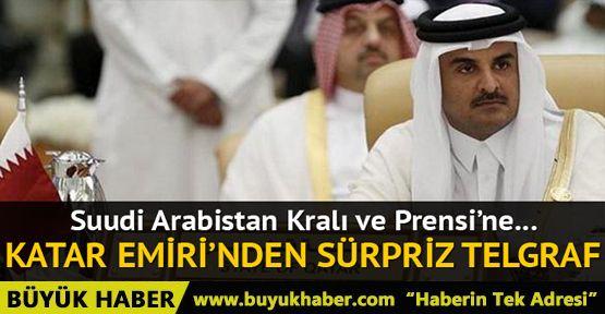 Katar'dan Suudi Arabistan'a sürpriz telgraf
