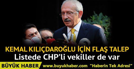 Kılıçdaroğlu'nun da olduğu fezlekeler TBMM'de