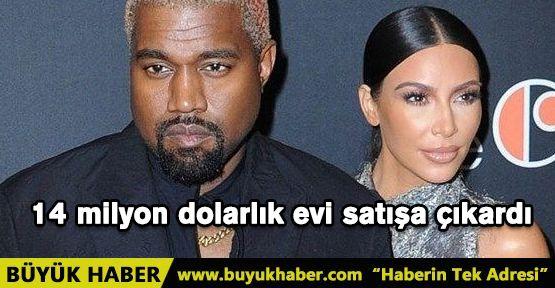 Kim Kardashian ve Kanye West 14 milyon dolarlık evi satışa çıkardı