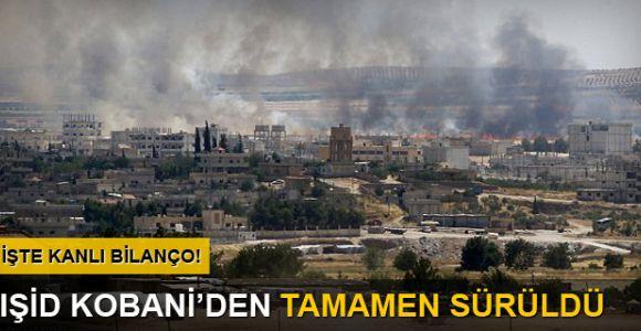 Kobani kent merkezinde çatışmalar kesildi