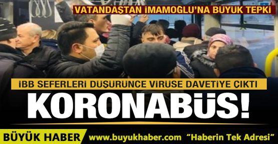 Koronavirüs önlemlerine İBB taş koydu!