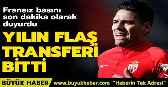 L'Equipe son dakika olarak duyurdu! 'Falcao artık Galatasaray'da'