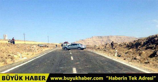 Mardin'de askeri konvoya hain tuzak