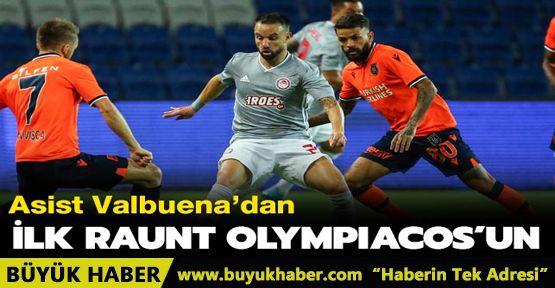 Medipol Başakşehir, ilk maçta tek golle mağlup oldu