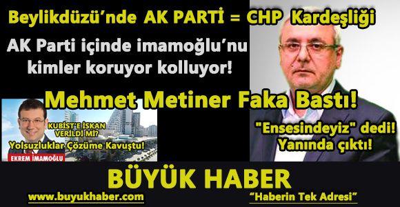 Mehmet Metiner Faka Bastı!