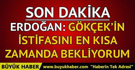Melih Gökçek'e Erdoğan'dan son dakika istifa uyarısı