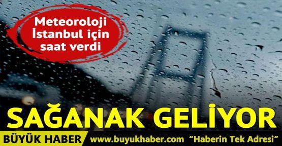 Meteoroloji uyardı! İstanbullular bu akşama dikkat