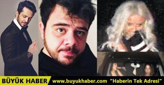 Murat Boz ve arkadaşları üç güzelle âlem yaptı!