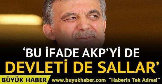 Müyesser Yıldız yazdı: Bu ifade AKP'yi de devleti de sallar