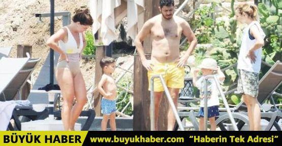 Pelin Karahan ve ailesi sezonu Bodrum'da açtı