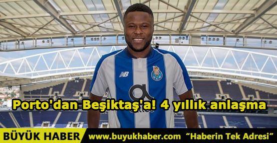 Porto'dan Beşiktaş'a! 4 yıllık anlaşma