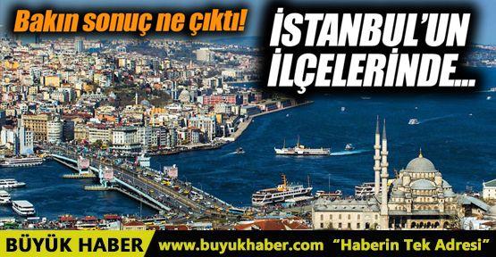 """Referandumda İstanbul'un hangi ilçesinde """"Evet"""" hangi ilçesinde """"Hayır"""" çıktı?"""