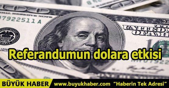 Referandumun dolara etkisi