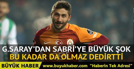 Sabri Sarıoğlu'na ihtarname