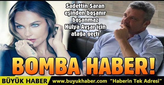 Sadettin Saran boşanır boşanmaz Hülya Avşar'a mesaj atmış