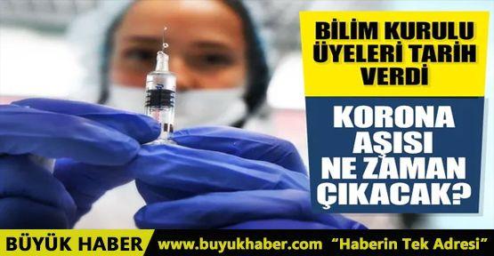 Sağlık Bakanlığı Bilim Kurulu üyeleri tarih verdi! Koronavirüs aşısı ne zaman çıkacak?