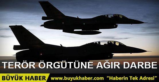 Savaş uçakları bir kez daha PKK hedeflerini vurdu