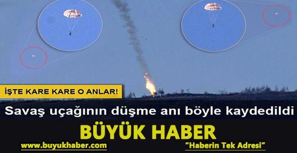 Suriye sınırında savaş uçağı düşürüldü!