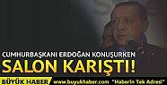 ABD'de Cumhurbaşkanı Erdoğan konuşurken...