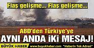 ABD'den Türkiye'ye bir takdir bir de...
