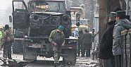Afganistan'ta Türk büyükelçiliği aracına...