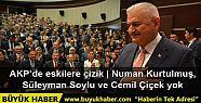 AKP'nin yeni MKYK listesinde Numan Kurtulmuş,...