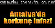 Antalya'da iki kişi öldürülmüş halde...
