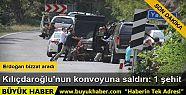 Artvin'de Kılıçdaroğlu'nun konvoyuna...
