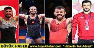 Avrupa Güreş Şampiyonası'nda dört madalya...