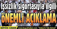 Bakan Sarıeroğlu'ndan işsizlik sigortası...