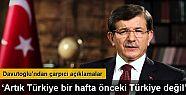 Başbakan Ahmet Davutoğlu canlı yayında...