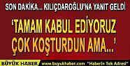 Başbakan'dan Kılıçdaroğlu'na yanıt...