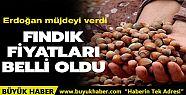 Başkan Erdoğan, fındık üreticilerine...