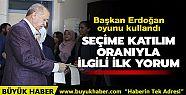 Başkan Erdoğan: Seçmen en isabetli kararı...